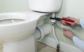 fuite d'eau aux toilettes